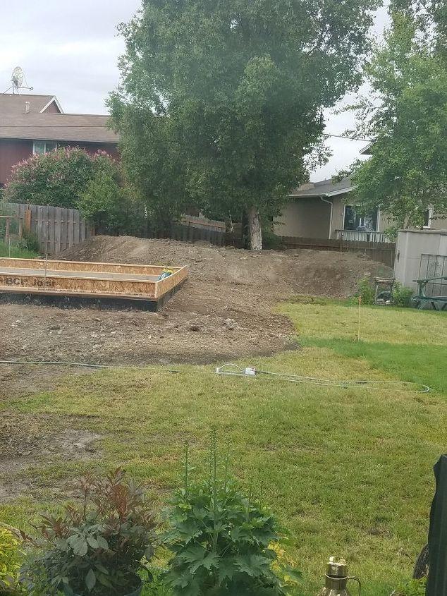 q how do i fix a backfill hill