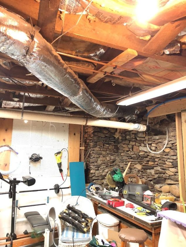 q i would love to finish the ceiling in my basement inexpensively