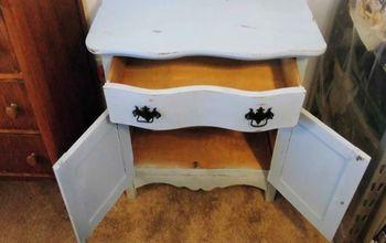 antique wash stand makeover