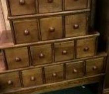 q cd storage to furniture piece