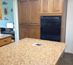 Q Best Way To Cover Stained Varnished Kitchen Cabinets With Paint