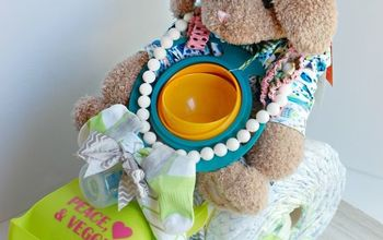 baby shower decoration gift diaper tricycle tutorial