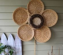 bamboo summer sunflower decor