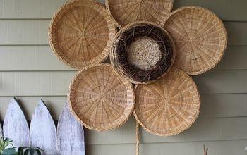 Bamboo Summer Sunflower Decor