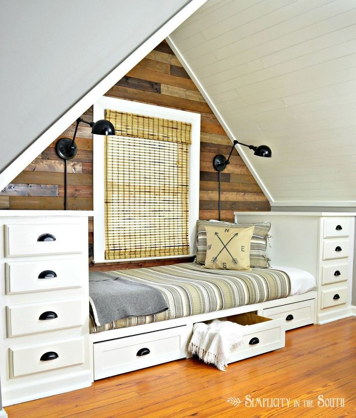 s 30 amazing furniture flips you have to see to believe, Kitchen Cabinets Become A Built In Bed