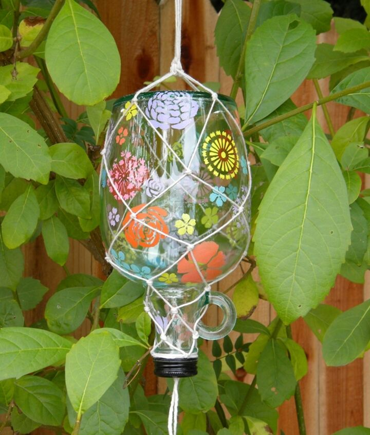 s 17 diy projects you can start and finish tonight, Enhance Your Garden With A Butterfly Feeder