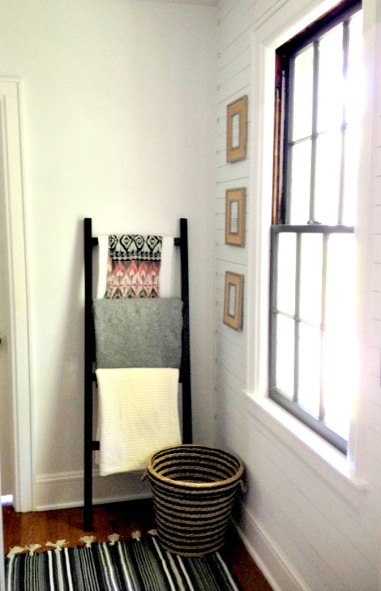 s 17 diy projects you can start and finish tonight, Make A Blanket Ladder