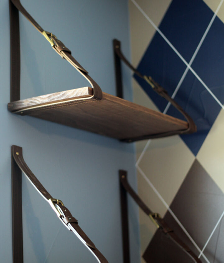 s 17 diy projects you can start and finish tonight, Add Hanging Shelves
