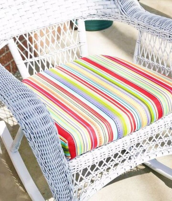 s 17 diy projects you can start and finish tonight, Recover Your Outdoor Cushions
