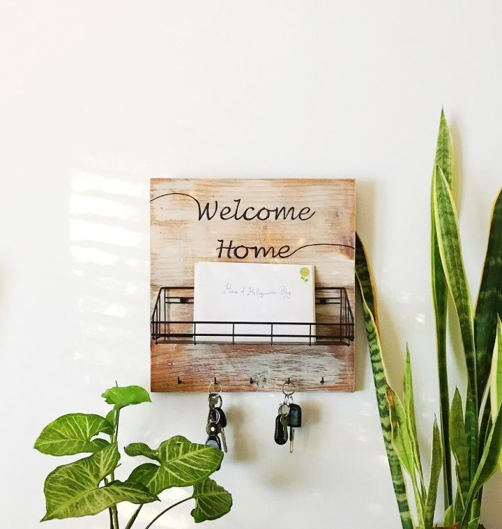 s 17 diy projects you can start and finish tonight, Build A Mail Holder