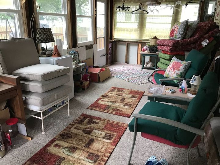 q i want to complete the interior of a 3 season sun room