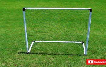 DIY PVC Soccer Goal Net