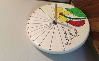 this is my summer challenge whimscal sun dial