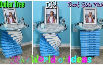 Dollar Tree DIY Book Side Table