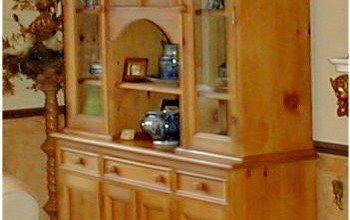 welsh dresser painted in as paris grey