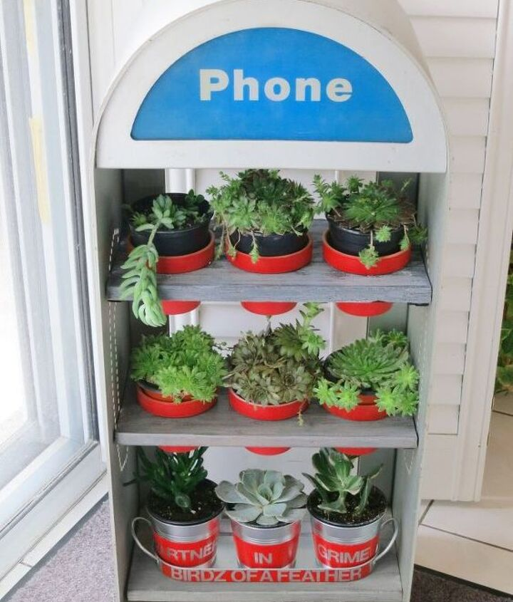 phone booth upcycle