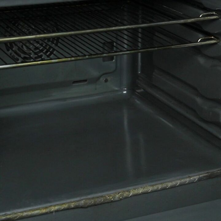 s 30 essential hacks for cleaning around your home, Clean Your Oven With Oranges