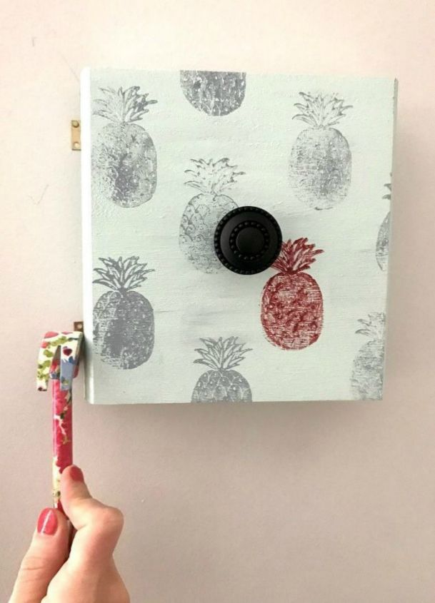s 15 insanely cute reasons to add pineapple to your decor, They turn eyesore covers into art