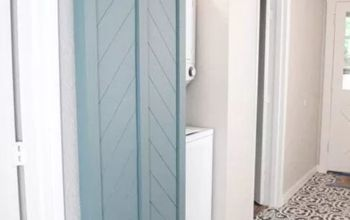 diy barn door using an interior door