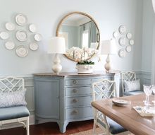 easy way to hang a heavy mirror or piece of art