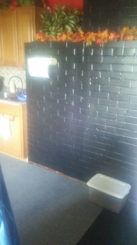q i d love to know how to take the bricks just stick out into my kitchen