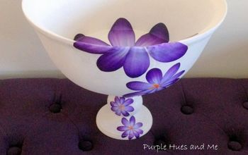 restyle a thrift store wooden bowl
