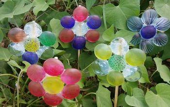 dollar store glass bead flowers
