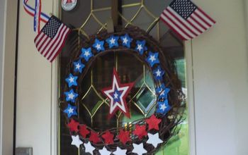 i decided i needed a 4th of july wreath