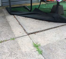 Superieur ... Iu0027m Tripping Or Stubbing Toes On The Squares That Are Lifting Up. They  Are 45u201dx 60u201dx 2u201d. Any Ideas On Fixing Without Tearing Up The Whole Patio?