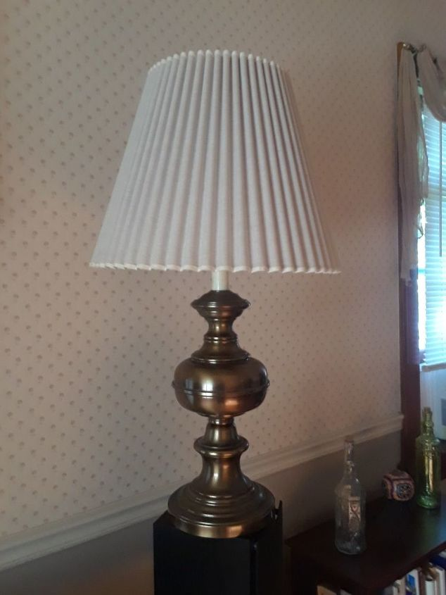 q what can i do to update this old lamp