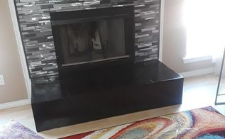 fireplace make over