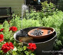 easy diy hummingbird fountain