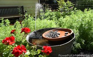 easy diy hummingbird fountain