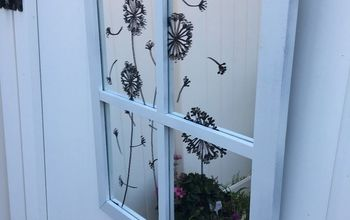 Faux Garden Window