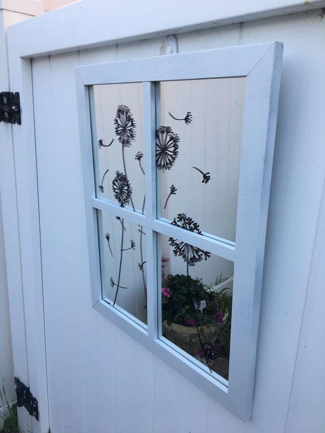 faux garden window