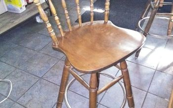 q what paint do i need to use to paint these barstools