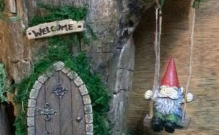 semi permanent indoor fairy gnome garden gnome house