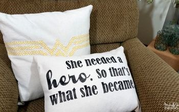 Wonder Woman Home Decor Throw Pillows