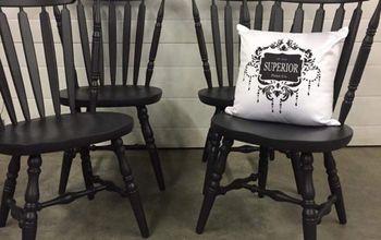 Farmhouse Dininig Chair Makeover
