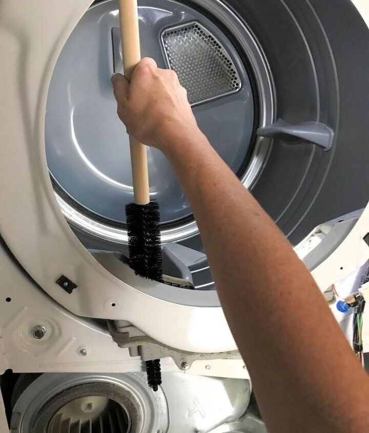 how to clean your he dryer