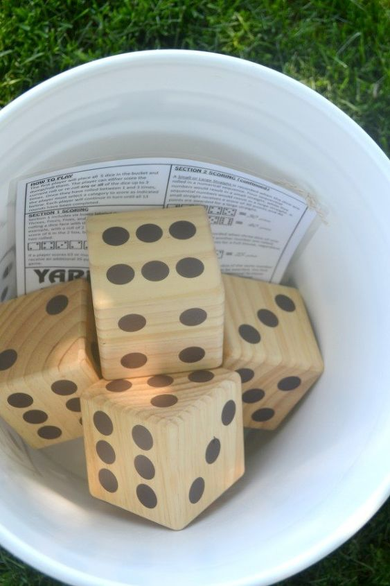 diy yard game no power tools required