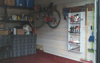 Shiplap Garage Walls?  YES !