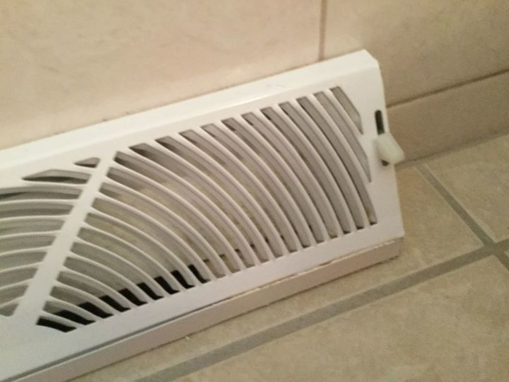 How do I remove this baseboard heat diffuser in bathroom ...