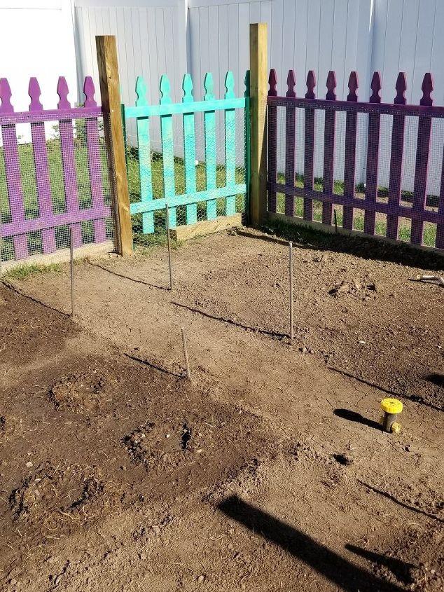 q best method for a garden garden walking path that won t retain water