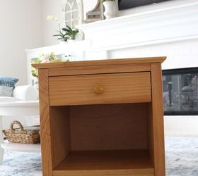 From Mission Style To Cottage End Table Makeover
