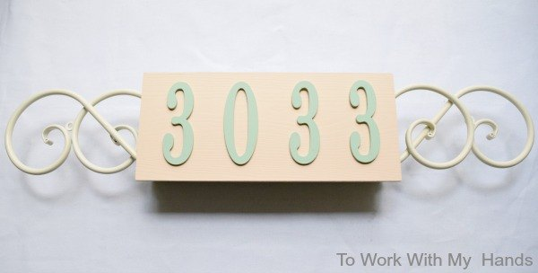 s 13 spectacular waysto display your house number, Spring Edition
