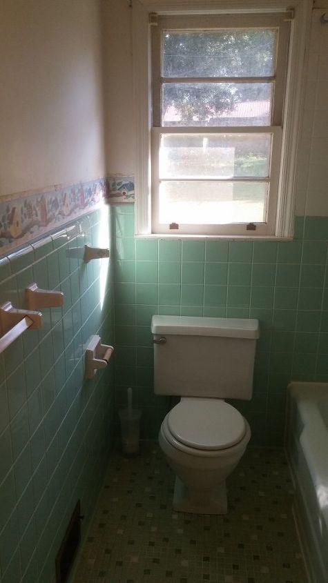 q we need help refreshing an old bathroom