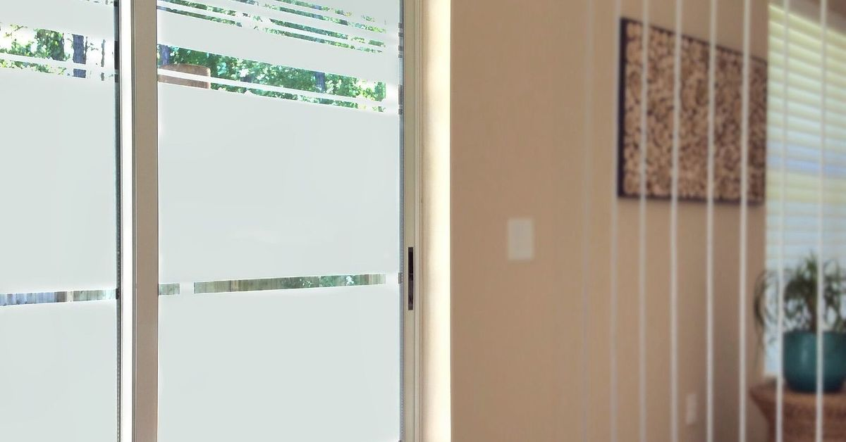 Give Your Sliding Glass Door Some Swag Hometalk