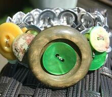 recycled pop top bracelet