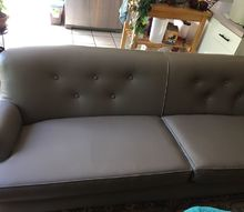 q what paint to use on vinyl couch